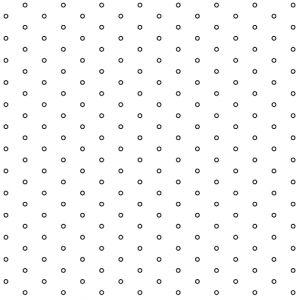 .045in Diameter Circle Perforation