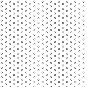 .063in Diameter Circle Perforation on .189in Centers