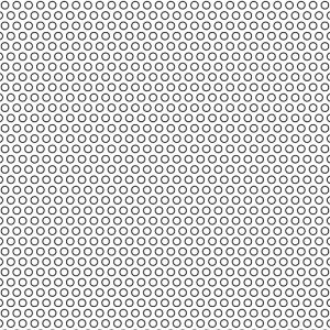 .078in Diameter Perforated Circles on .125in Centers