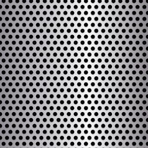 .125in Diameter Round Metal Perforation