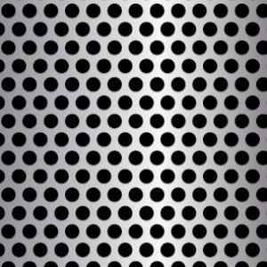 .25in Diameter Perforated Metal Pattern