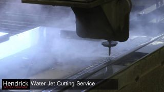 Embedded thumbnail for Water Jet Cutting