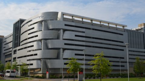 Exterior Metal Cladding for the Cleveland Medical Center