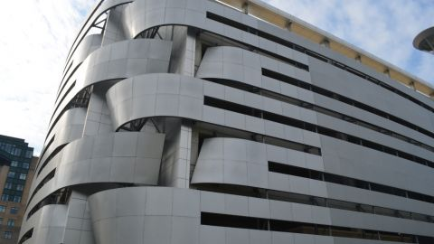 Perforated Metal Cladding for the Cleveland Medical Center