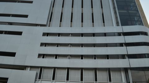 Corrugated Metal Cladding for the Cleveland Medical Center