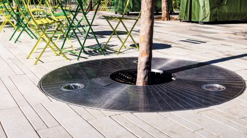 Stainless Steel Tree Grating