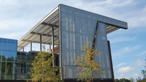 Perforated Corrugated Metal Panels at NCCU