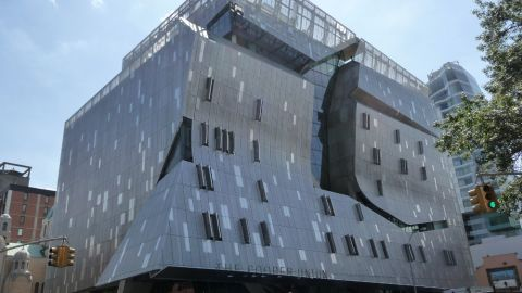 Architectural Metal Cladding for the Cooper Union