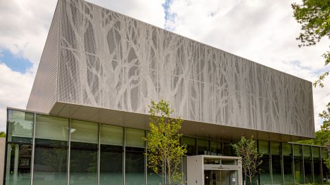 Image-Clad Architectural Metal Used for Good Hope Comm. Center