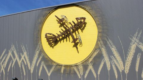 Flying Fish Brewery Perforated Metal Panels