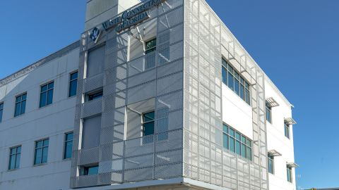 Perforated Metal Cladding for Waste Connections of Florida