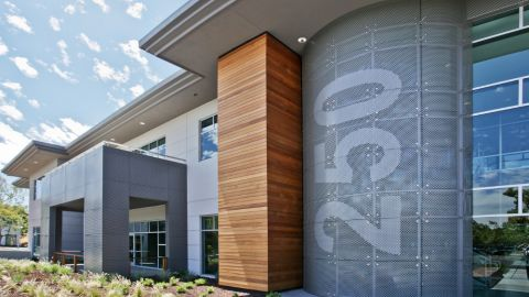 Perforated Metal Cladding Project for Cisco Systems