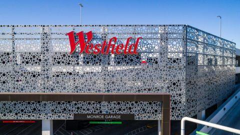 Westfield Parking Garage Perforated Metal Cladding