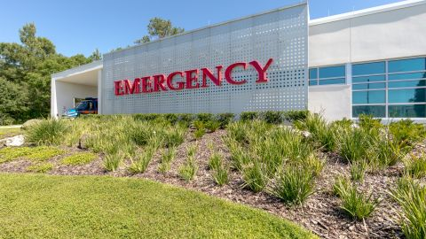 Perforated Metal Façade for UF Health Shands