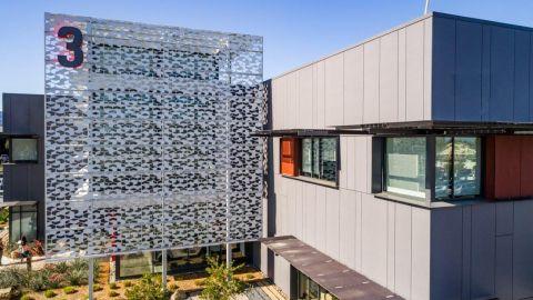 Laser Cut Metal Façade at Xilinx HQ