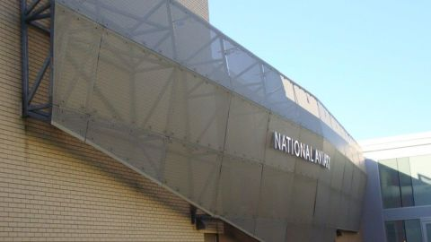 Perforated Metal Façade on the National Aviary