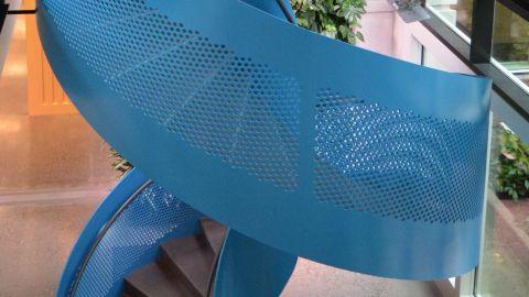 Perforated Metal Infill at Microsoft Headquarters
