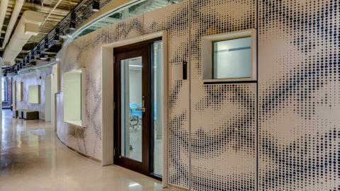 Perforated Metal Panels Uconn Waterbury Hendrick