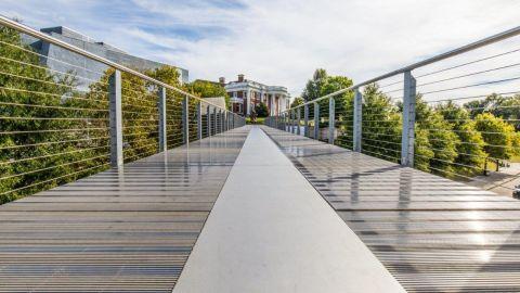 Profile Bar with SlipNot® Coating on the Holmberg Bridge