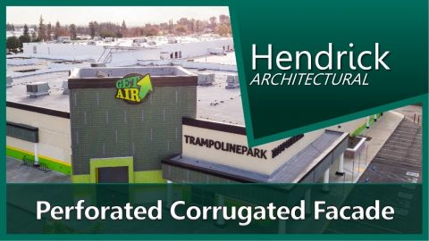 Embedded thumbnail for Perforated Corrugated Facade - GetAir