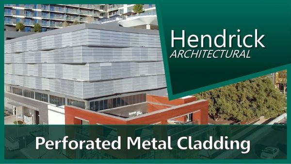 Architectural Metal Cladding : Metal cladding systems hendrick architectural