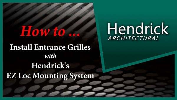 Embedded thumbnail for Arch Entrance Grille Installation - EZ Loc Mounting System