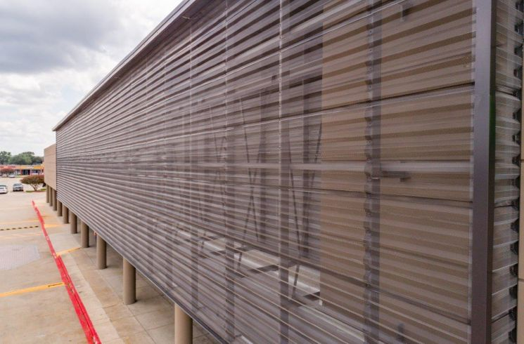 perforated corrugated metal panels BWR360