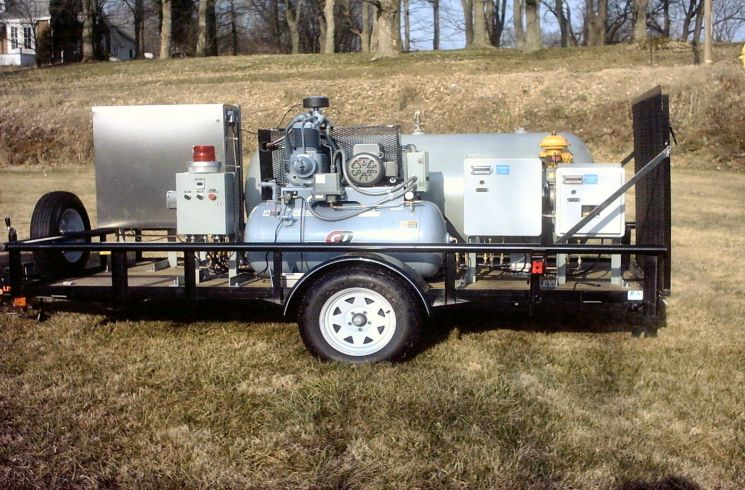 Trailer mounted system