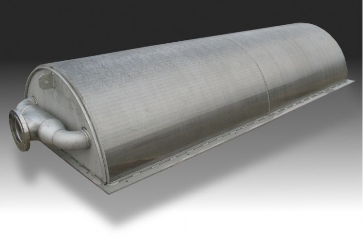 Hendrick offers a half-barren water intake screen for low water conditions where a full intake screen would not work.