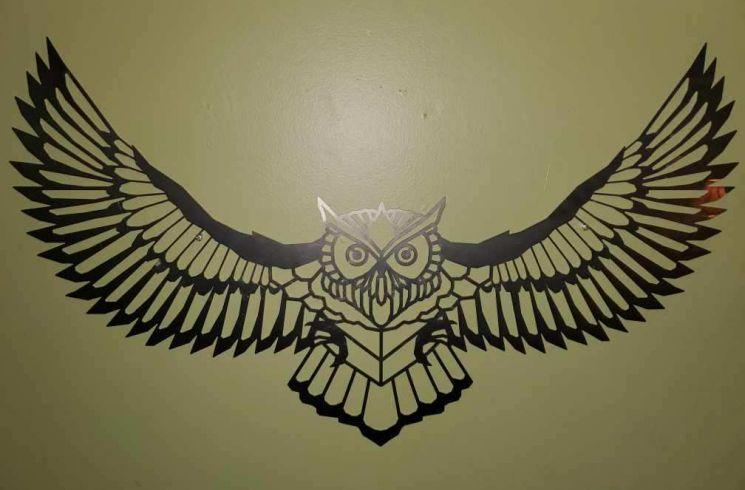 Laser Cut Eagle