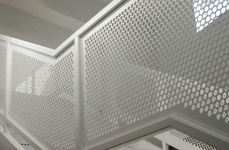 perforated metal infill panel