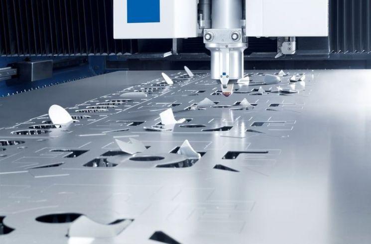 Hendrick's new 8kW fiber laser