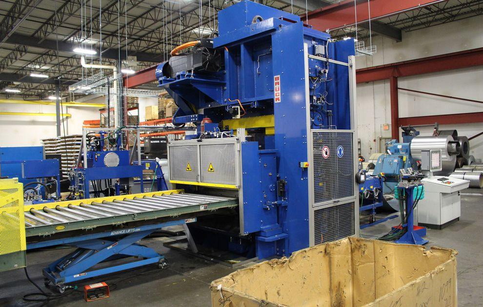 Hendrick Metal Manufacturing Equipment