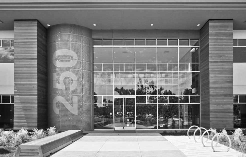 Perforated Metal Cladding for Cisco Systems Building