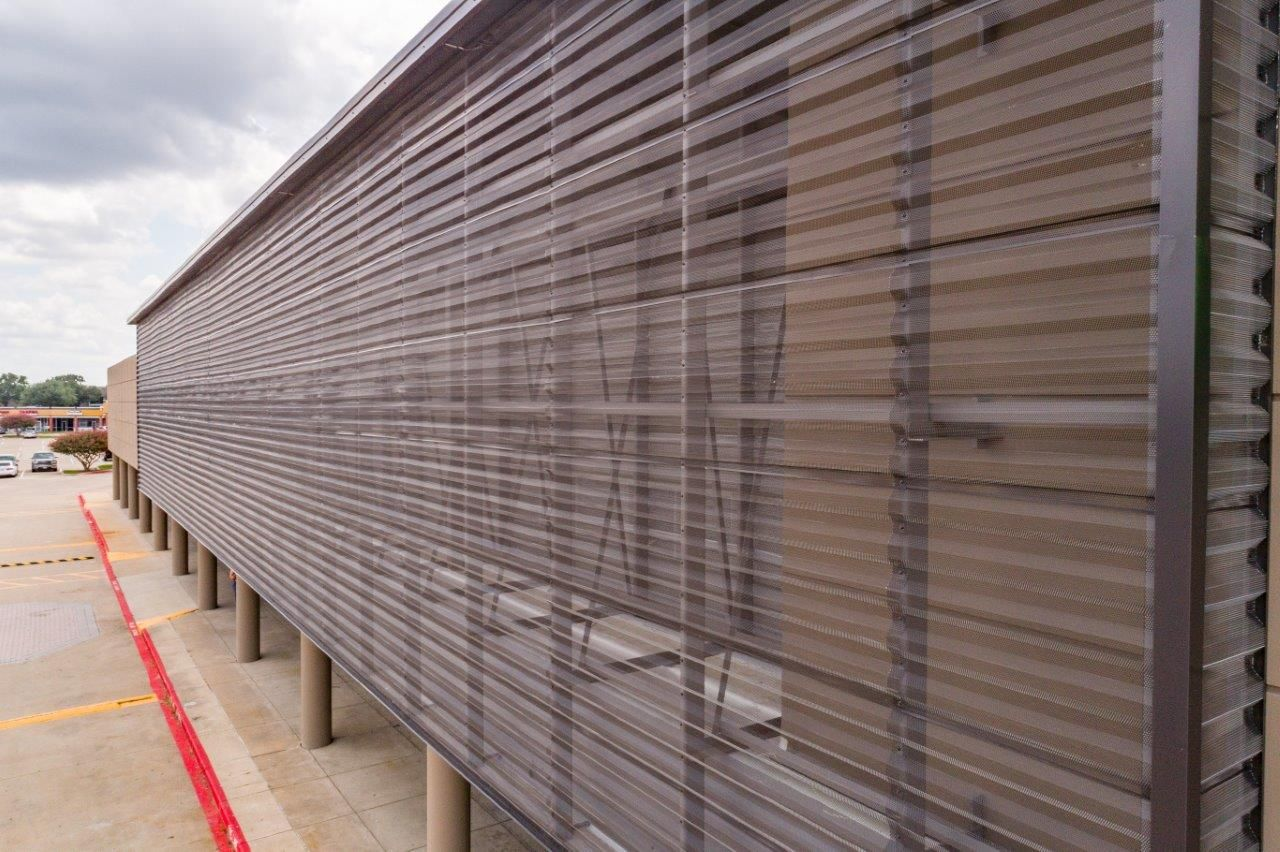 Corrugated Metal Panels Architectural Perforated Metal