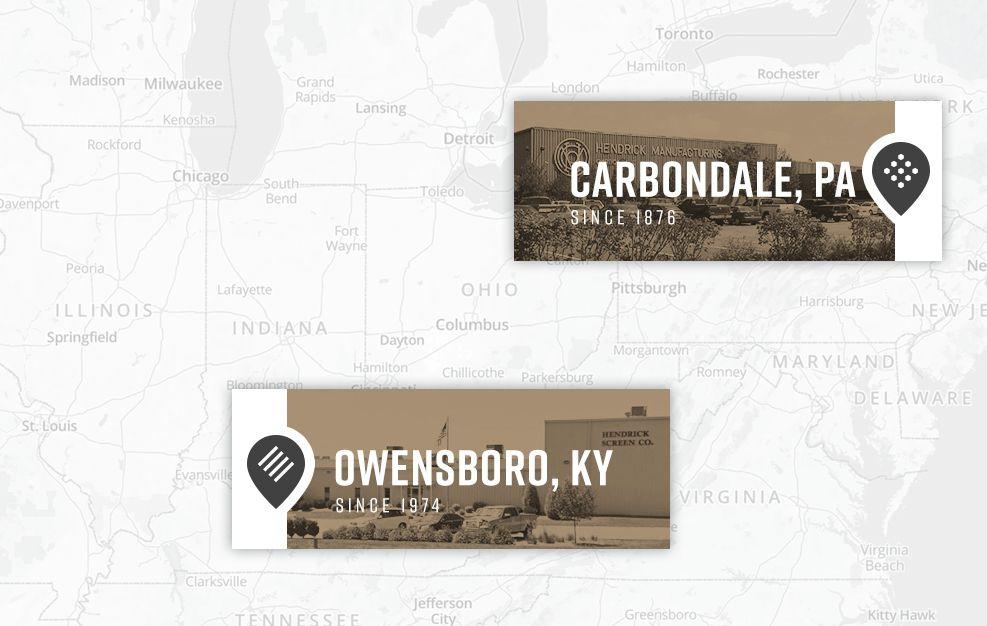 Hendrick Manufacturing Locations