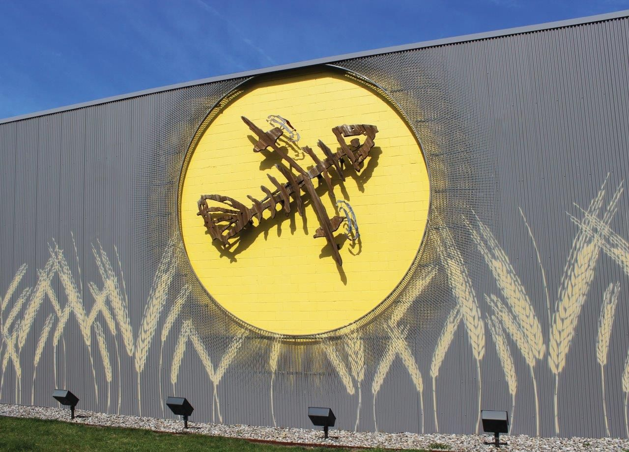 Perforated Corrugated Metal Panels - Flying Fish Brewery   Hendrick ...