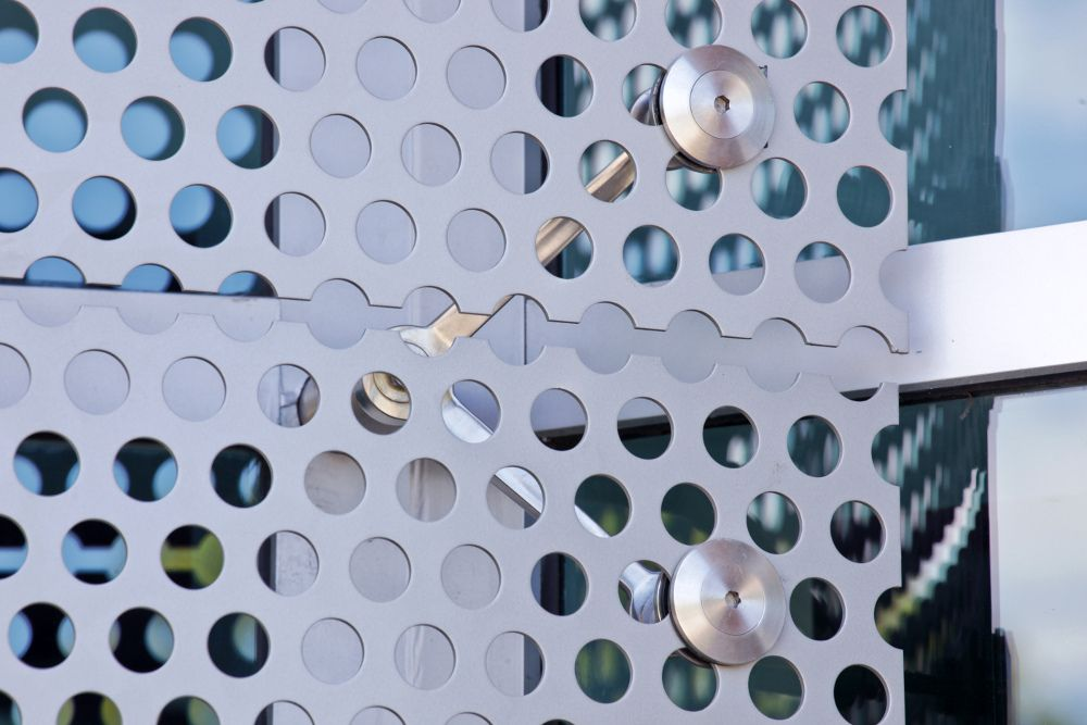 Perforated Metal Cladding Cisco Systems Hendrick